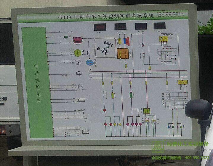电动汽车在线检测实训考核系统|汽车新能源